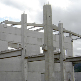 Precast concrete, precast element