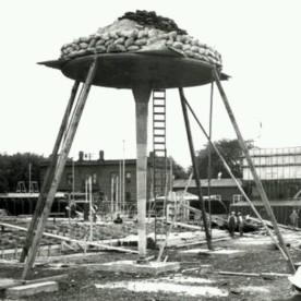 One-dimensional/ [mushroom] column